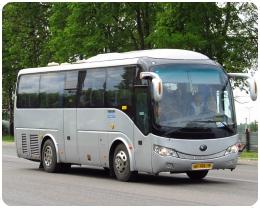 Аренда автобуса YUTONG с водителем в Клину